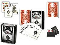 Карты Bicycle Prestige Plastic Cards Red Deck