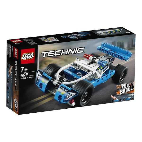 LEGO Technic 42091 Конструктор Лего Техник Полицейская погоня - фото 4
