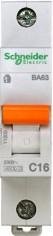 Автоматический выключатель 11203 ВА 63  (1ф) 16А Schneider Electric (12)