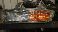 Габарит в бампер левый Toyota Corona