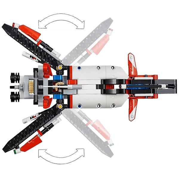 LEGO Technic 42092 Конструктор Лего Техник Спасательный вертолёт - фото 2