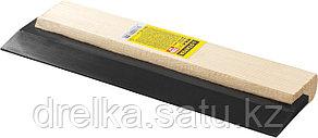 """Шпатель резиновый STAYER """"MASTER"""" для затирки, черный, 200мм, фото 2"""