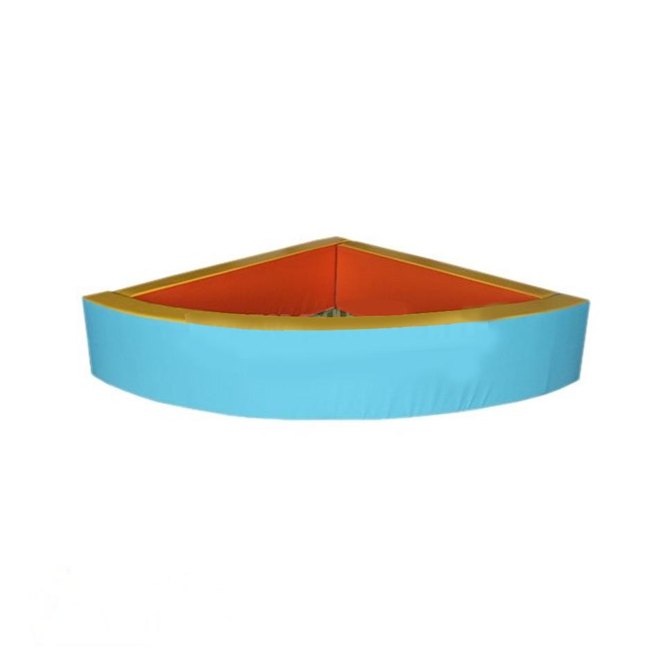 Сухой бассейн на каркасе -угловой разборный Объем: 0,5 м3