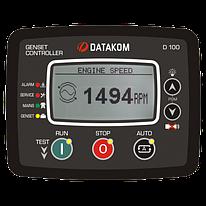 Контроллер для генератора Datakom D-100 J1939, GSM Контроллер для генератора (подогрев дисплея)