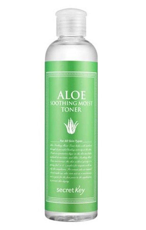Тонер Aloe Secret Key Soothing Moist Toner  248ml.