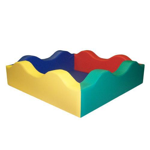 «Сухой бассейн» «Волна» (квадратный)