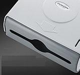 Диспенсер для бумажных полотенец белого цвета ( Z укладка), фото 5