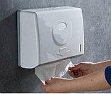 Диспенсер для бумажных полотенец белого цвета ( Z укладка), фото 8