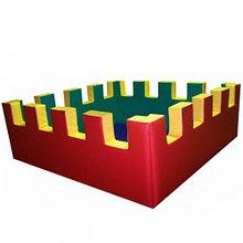 Сухой бассейн «Крепость» (квадратный)