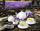 Чайная чашка и блюдце Wilmax 250 мл, фото 4