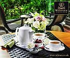 Чайная чашка и блюдце Wilmax 220 мл, фото 3