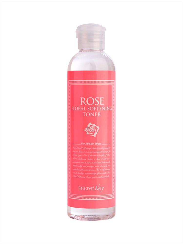 Тонер Secret Key Смягчающий тонер с экстрактом розы Rose Floral Softening Toner (248 мл)
