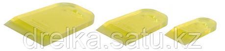 """Набор STAYER """"MASTER"""": Шпатели резиновые прозрачные, 3шт, 40/60/80мм, фото 2"""