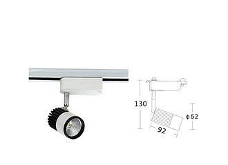 APL20040B-10COB Светодиодный трековый светильник (трековый светильник)