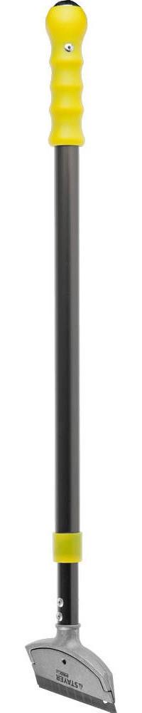 """Скребок STAYER """"PROFI"""" телескопический универсальный, 570-910мм, лезвие 100мм"""