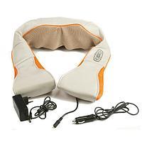 Массажёр роликовый с подогревом для спины и шеи Massager of Neck Kneading