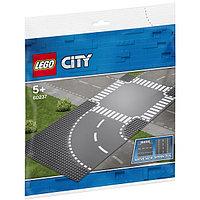 LEGO City 60237 Конструктор Лего Город Поворот и перекрёсток