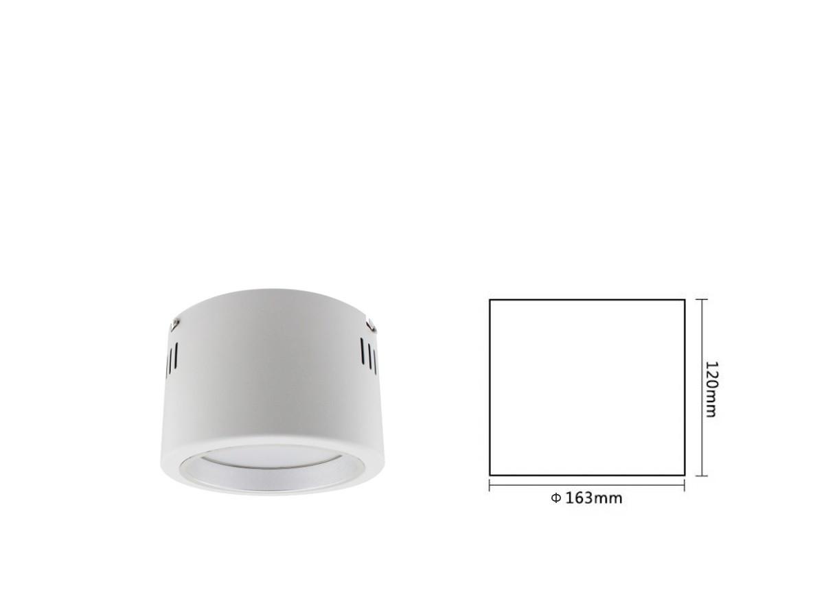 APL163A-18F Светодиодный накладной светильник