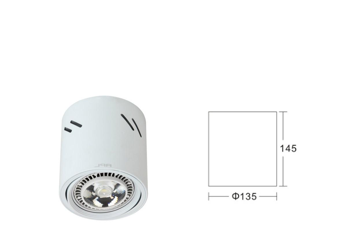 APL138-AR111 Светодиодный накладной потолочный светильник