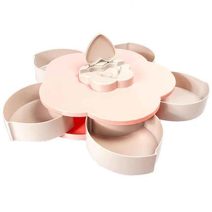 Менажница с подставкой для смартфона Flower Candy Box, фото 2