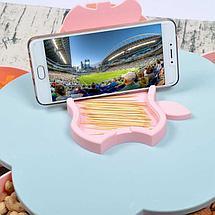 Менажница с подставкой для смартфона Flower Candy Box, фото 3