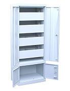 Шкаф картотечный ШК-4-Д4