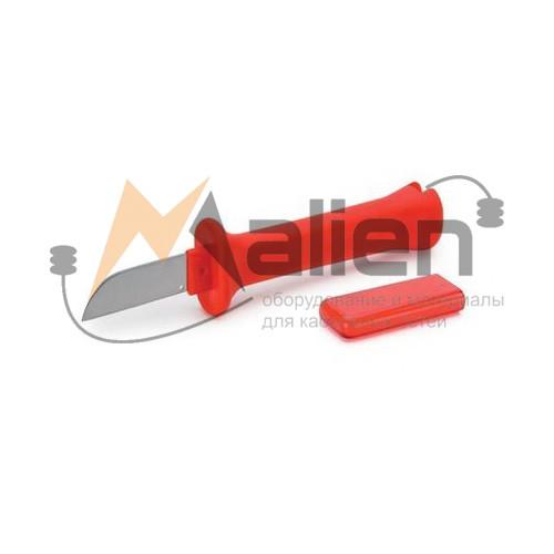 Нож электрика НЭСИ-02 МАЛИЕН с прямым лезвием