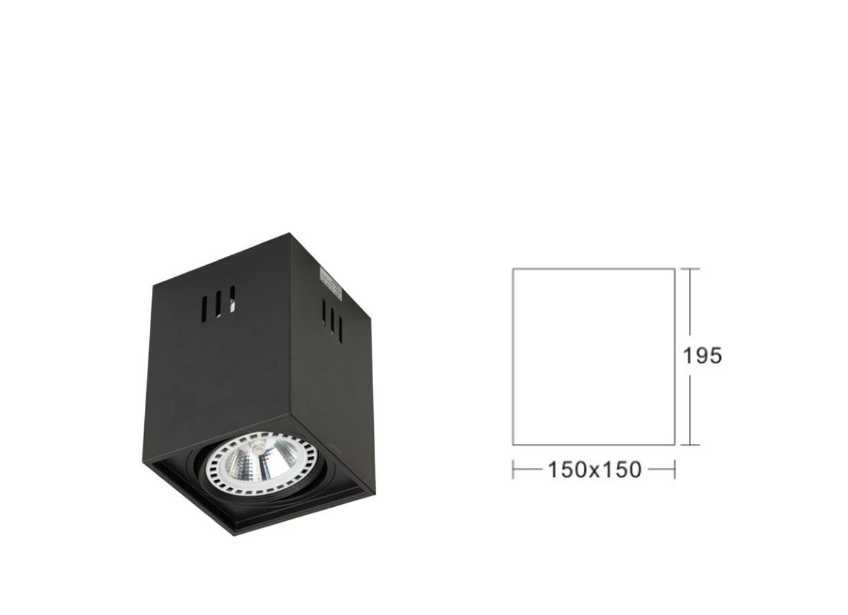 APL163B-AR111 Светодиодный накладной потолочный светильник