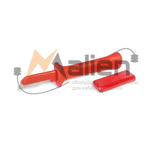 Нож электрика НЭСИ-04 МАЛИЕН с частично изолированным лезвием