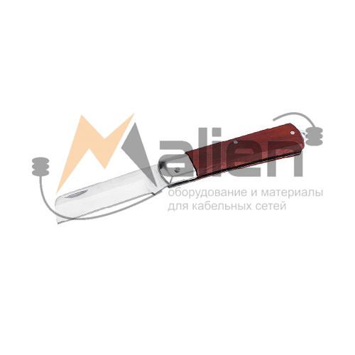 Нож электрика складной НЭСИС-01 МАЛИЕН с прямым лезвием
