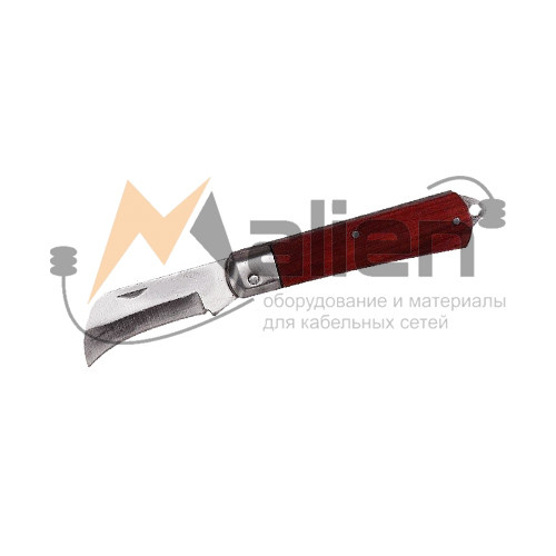 Нож электрика складной НЭСИС-02 МАЛИЕН с изогнутым лезвием