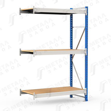 Стеллаж среднегрузовой SGR-V-ДСП 350 18103-2.0 ДС, фото 2