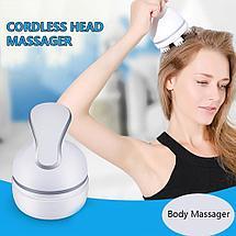 Электрический массажер беспроводной для головы TRUE ENJOY, фото 2