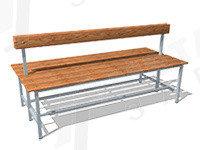 Скамейка для раздевалок СВ5, фото 2