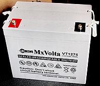 Аккумулятор Unikor MxVolta VT 1275 (12В, 75Ач), фото 1