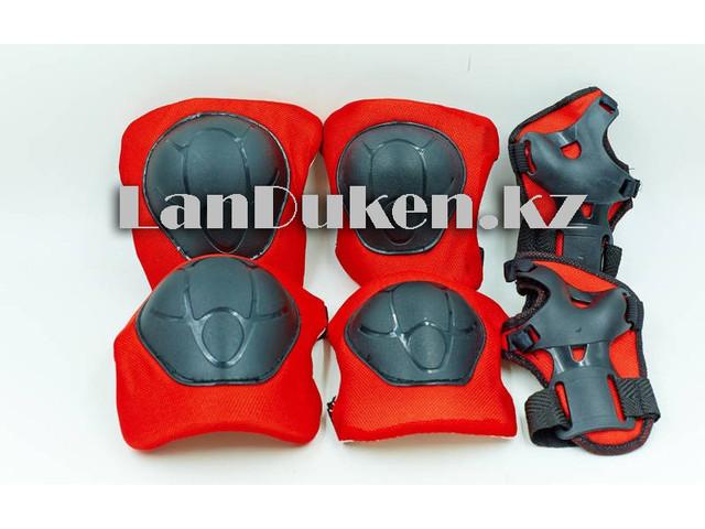 """Детский комплект защитных щитков """"Sports helmet"""" (красный)"""