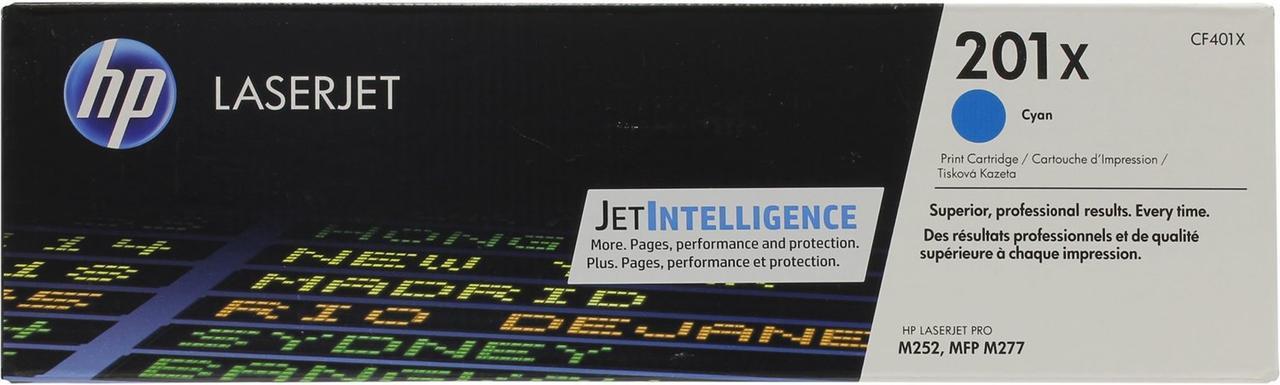 Лазерный картридж HP 201X (CF401X)