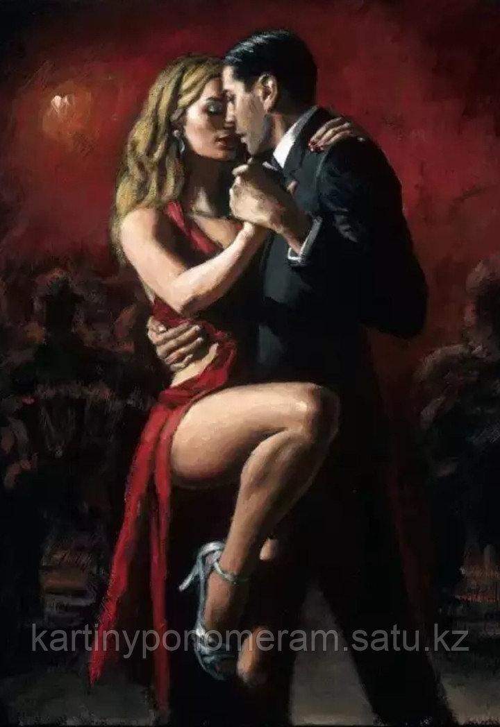 """Картина по номерам """"Танго для двоих"""""""