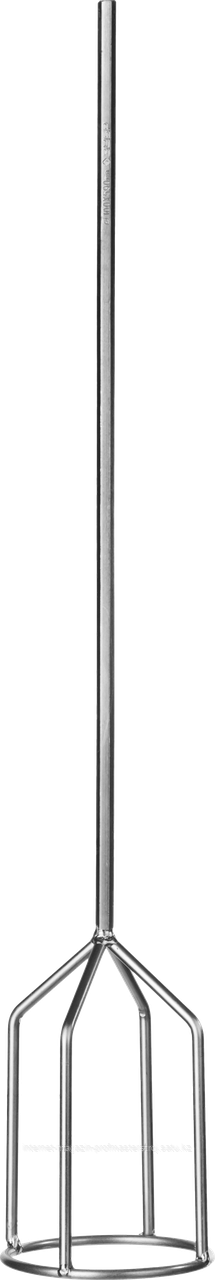 Миксер для гипсовых смесей и наливных полов, 100 х 590 мм, шестигранник, серия «ПРОФЕССИОНАЛ», ЗУБР