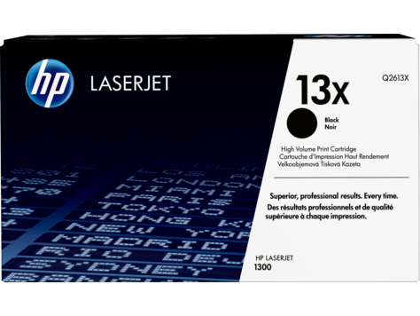 Лазерный картридж увеличенной емкости HP Europe 13X (Q2613X)