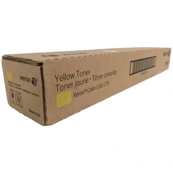 Тонер Лазерный картридж OEM XEROX (006R01658) Yellow