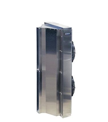 Воздушно-тепловая завеса Тепломаш КЭВ-П4060A IP54 (2 метровая; без нагрева; нерж.), фото 2
