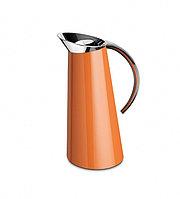 Термос-кувшин 1,1л. Glamour оранжевый (Casa Bugatti, Италия)