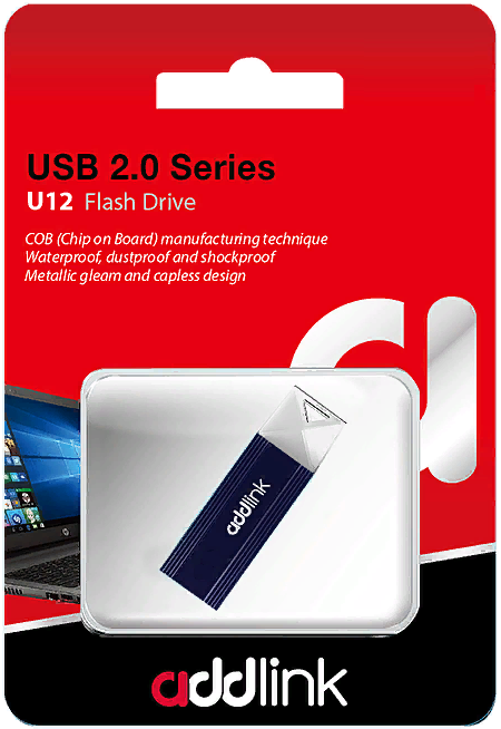 USB Флеш 32GB 2.0 Addlink ad32GBU12D2
