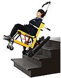 Подъемник лестничный, гусеничный для инвалидов, электрический, складной, мобильный 24v  200w.model DW-ST003A., фото 6