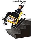 Подъемник лестничный, гусеничный для инвалидов, электрический, складной, мобильный 24v  200w.model DW-ST003A., фото 4