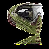 Маска пейнтбольная DYE I4 термальная Barracks Olive 2015