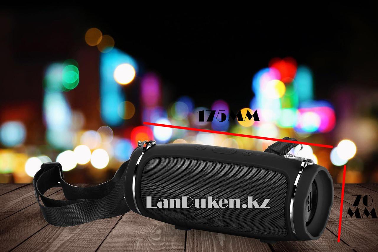Беспроводная портативная акустическая Bluetooth колонка Charge mini 4+ 6000mAH (черная)