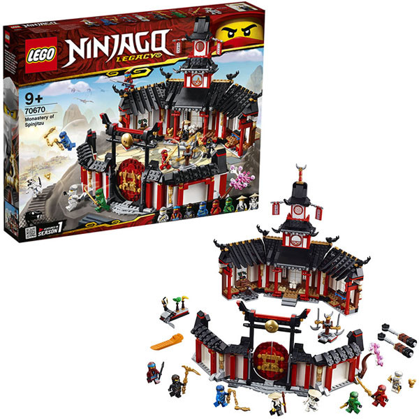 LEGO Ninjago 70670 Конструктор Лего Ниндзяго Монастырь Кружитцу