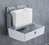 Диспенсер для бумажных полотенец черного цвета ( Z укладка), фото 4